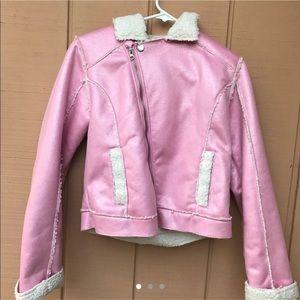 Jackets & Blazers - 💕 PINK Y2K GLITTER WOOL BARBIE JACKET 💕